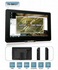 利利普7寸HDMI防尘面板10点式电容屏触摸监视器 779GL-70NP/C/T