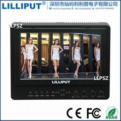 利利普 665/O/P/WH 以色列芯片7寸无线HDMI监视器可传输50米距离