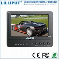 利利普 665/O/P 攝影7寸高清HDMI單反監視器 復合視頻顯示器