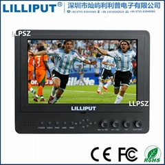 Lilliput 665/WH 7 inch Wireless HD Monitor Transmitter distance 30-meter With HD