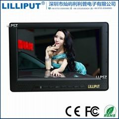 单反显示器 668GL-70NP/H/Y 利利普7寸高清HDMI监视器