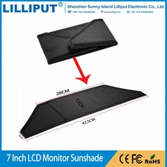7 Inch Extra Deep LCD Video TV Monitor Hood / Sun Screen Sunshade