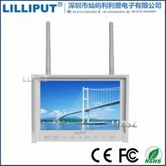 利利普 339/DW 7寸FPV航拍无线hdmi监视器 高清hdmi显示器