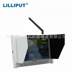 利利普 7寸339/W FPV显示器 航拍监视器 带HDMI高清接口 自动搜屏