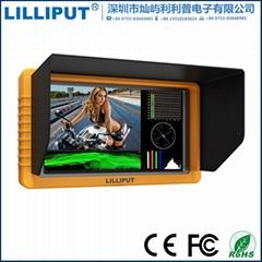 利利普Q5全高清5.5寸1920x1080 摄影监视器SDI和HDMI双向互转功能