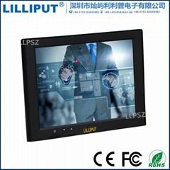 利利普 UM-82/C/T 内置喇叭8寸USB触摸屏显示器