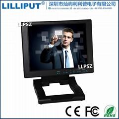 利利普10.4寸液晶觸摸顯示器 桌面VGA監視器 FA104