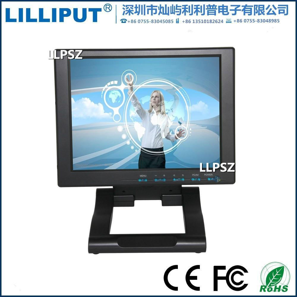 利利普10.4寸液晶觸摸顯示器 桌面VGA監視器 FA1042-NP/C/T 2