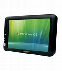 7inches TFT LCD WinCE PC with touch screen