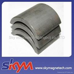 Customized ferrite magnets