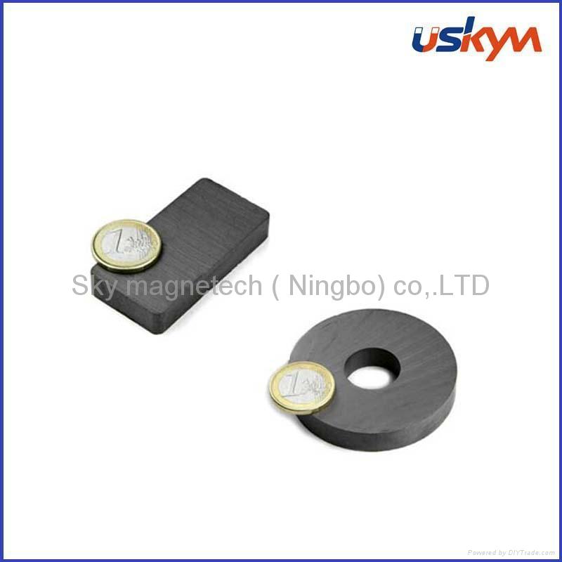 large ferrite magnet