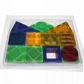 Kids Magnet Toys Magnet Building Tiles,  70pcs 3D Magnetic Building Blocks Set, 2