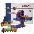 112 Pcs Creative Building Magnetic STEM Toys, Educational 3D Construction Toy 1