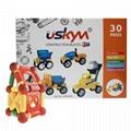 30 pcs Magnetic construction blocks for kids
