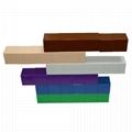 36PCS DIY Intelligence educational kids plastic magnetic building blocks toys 2