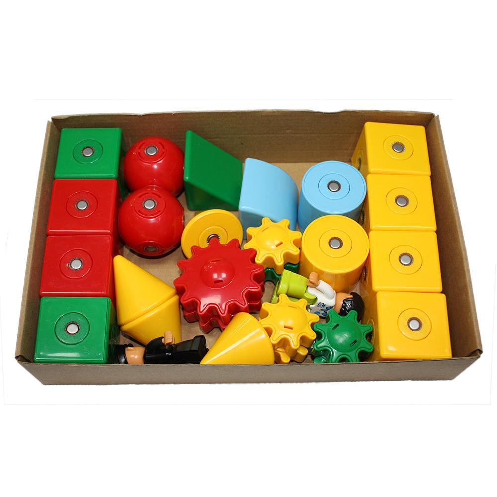 3D Magnetic Building Blocks Educational toys Children building blocks intelligen 2