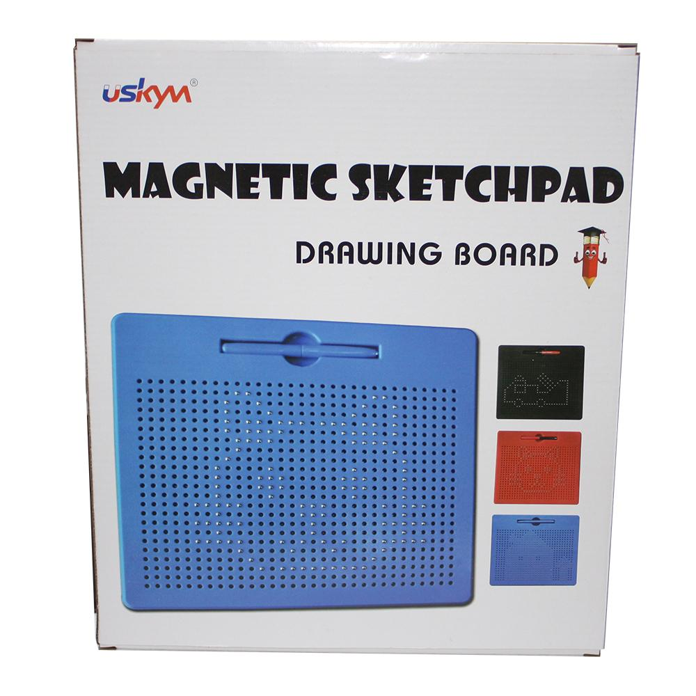 Plastic magnetic drawing board for kids magnetic writing pad 3