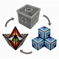 Educational diy transforming toy magnetic magic cube puzzle