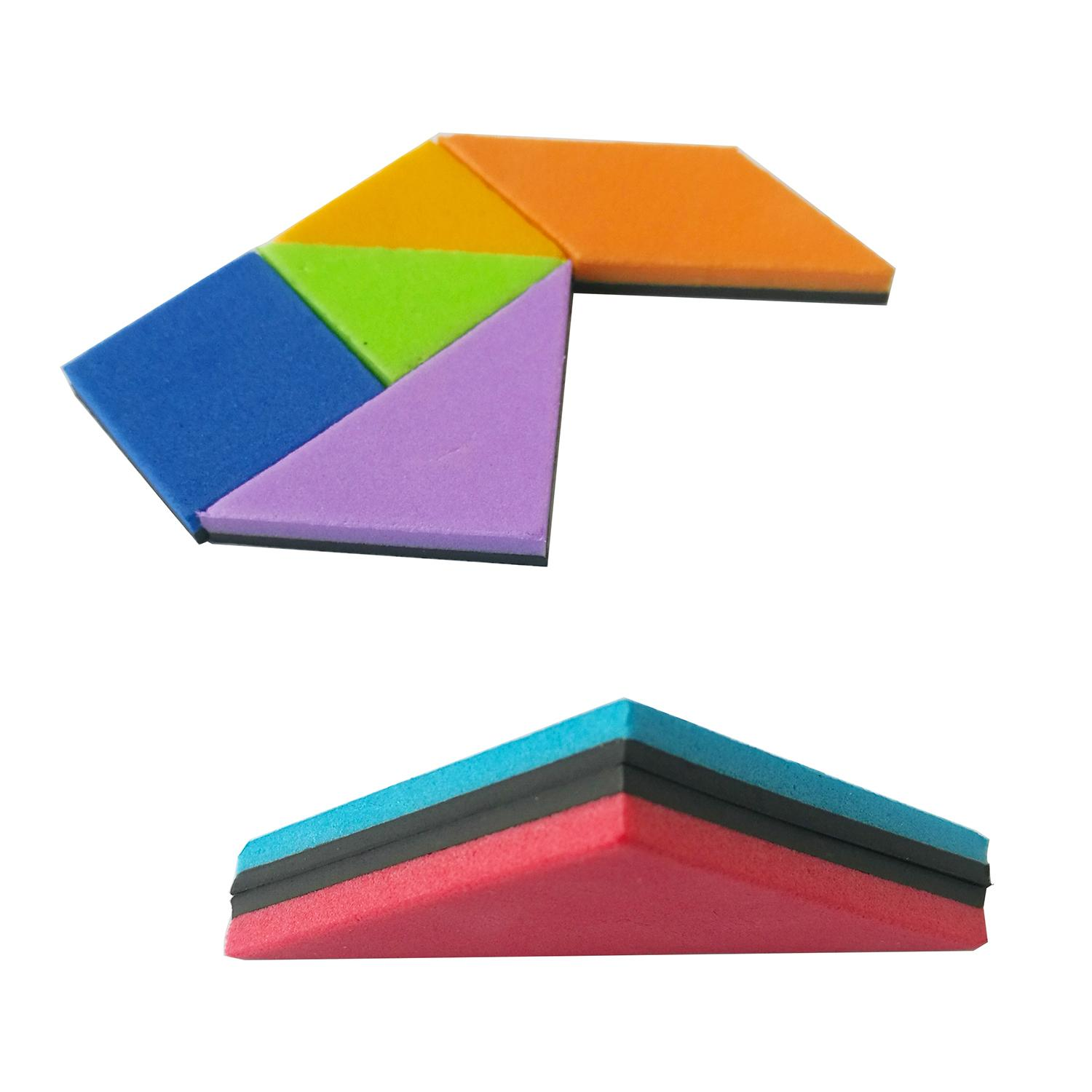 magnetic jigsaw puzzle creative kid' educational toy tangram 2