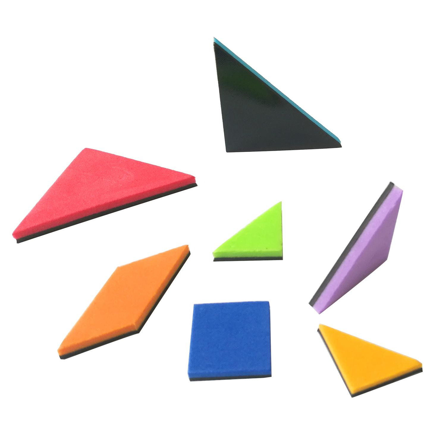 magnetic jigsaw puzzle creative kid' educational toy tangram 1