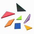 magnetic jigsaw puzzle creative kid' educational toy tangram