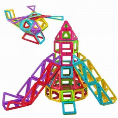Kids magnetic building b