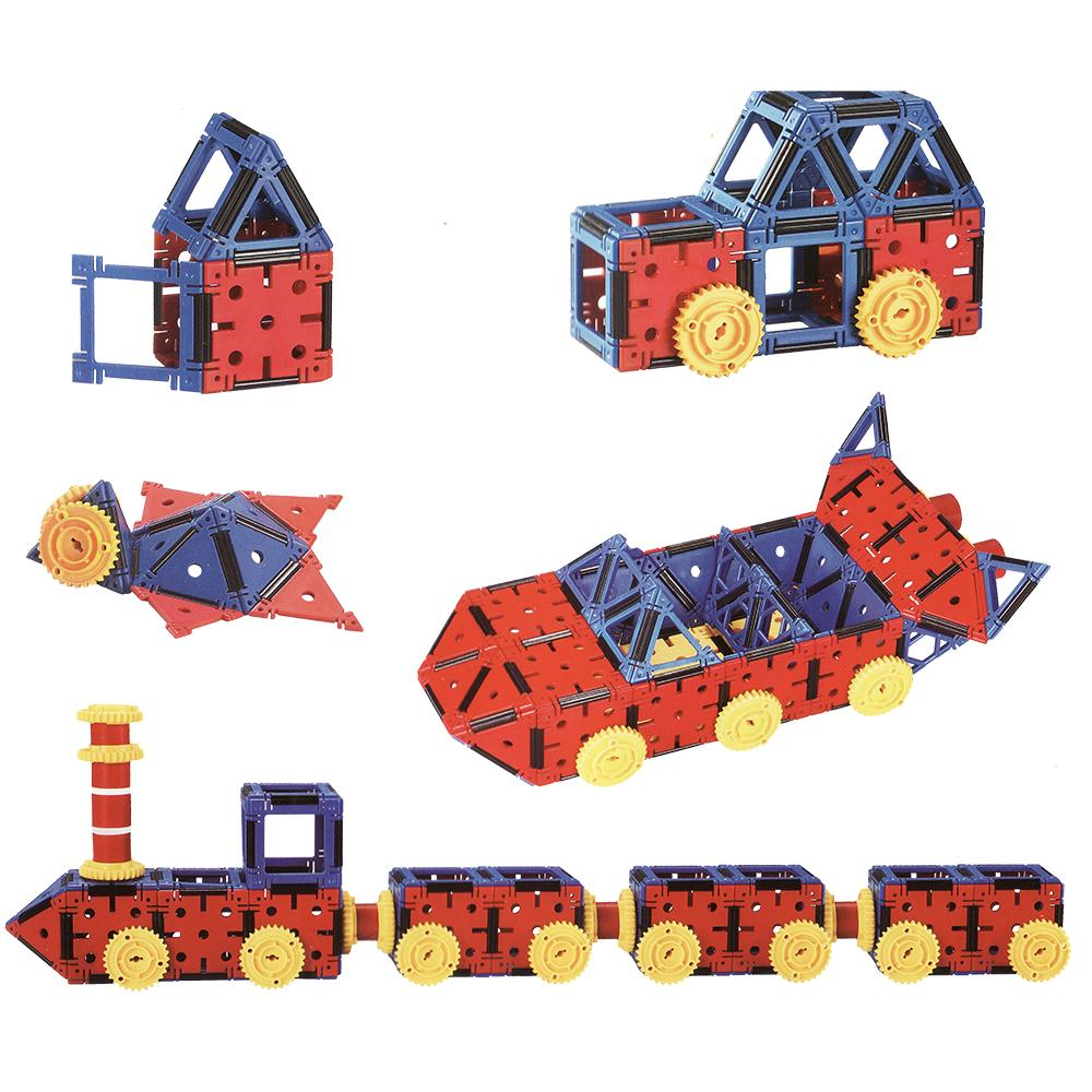 Educational Plastic Interlocking Building Connecting box Kit Toy