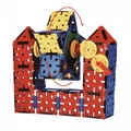 Educational Plastic Interlocking Building Connecting box Kit Toy 2