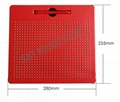 Plastic magnetic drawing board for kids magnetic writing pad 4