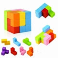 Magnetic Buliding Blocks Magic Magnetic Cube for Kids-7pcs Magnetic Bricks
