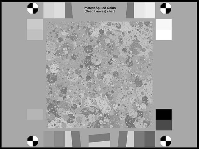 Imatest Spilled Coins (Dead Leaves) Test Chart 2