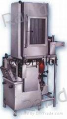 连续式压吸蒸染试色机