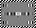 Multiburst-resolution 0.5 to 1 2