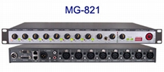 供應美國 THINUNA/聲優  8路自動混音台MG-831