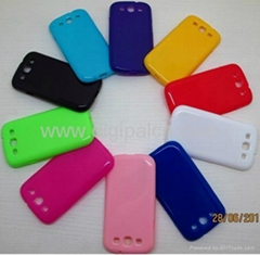 Soft TPU case Samsung i9300 mobile phone case