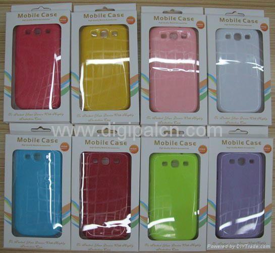 Soft TPU case Samsung i9300 mobile phone case 3