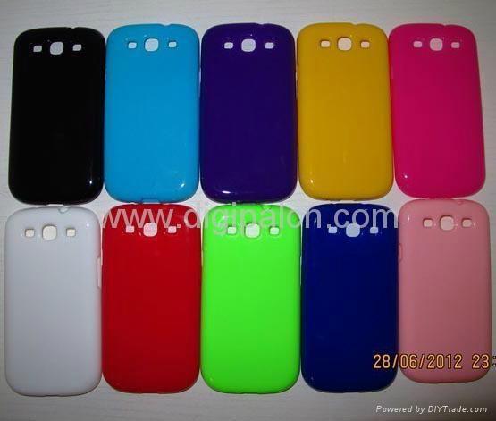 Soft TPU case Samsung i9300 mobile phone case 4