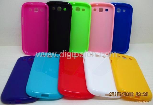 Soft TPU case Samsung i9300 mobile phone case 5