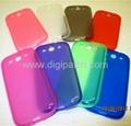 Transparent TPU case Samsung mobile