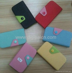 Fashionable Leather Mobile phone Case