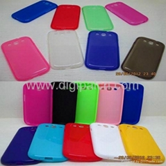 Clear TPU case Samsung i9300 Mobile phone case