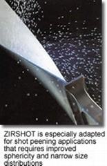 供應法國聖戈班氧化鋯珠陶瓷噴丸(Zirshot)