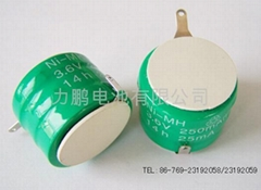 充电蜡烛灯B250H扣式1.2V镍氢充电电池