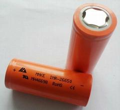 東莞廠家批發錳克 MNKE IMR26650 鋰電池 3500MAH 3.7V 原裝正品