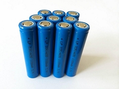 电池厂家14650 3.7v锂电池 1100mah充电锂电池