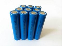 電池廠家14650 3.7v鋰電池 1100mah充電鋰電池高容量電池