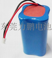 3.7V18650-2000MAH four multiple battery with protection board