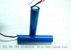 激光笔10440 3.7V锂电池 350MAHA品新货7号锂电池充电电池