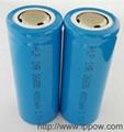 3.7V26650Li-ion battery 4000MAH 3