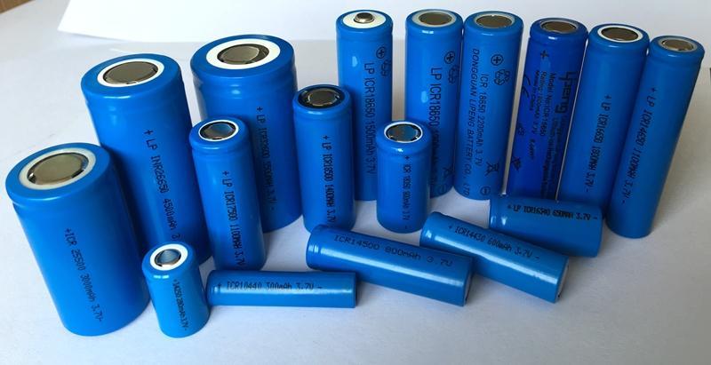 庭院灯充电头灯3.7V18650锂电池2200MAH手电筒移动电源足容量 1